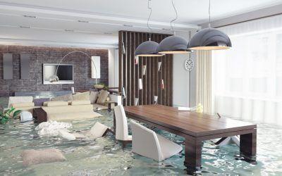 ¿A quién reclamo por daños de agua en mi local?